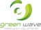 Logo green wave